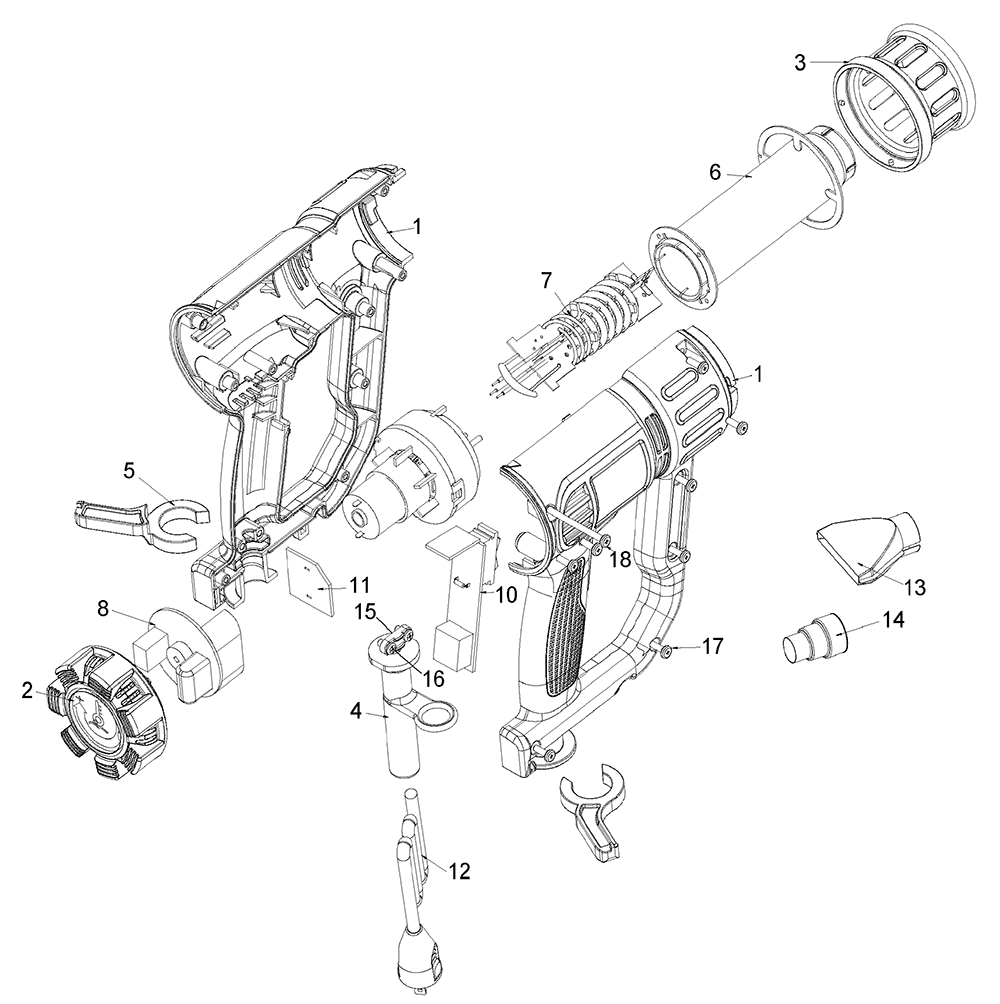 Buy Dewalt D26411-B3 Type-1 Replacement Tool Parts