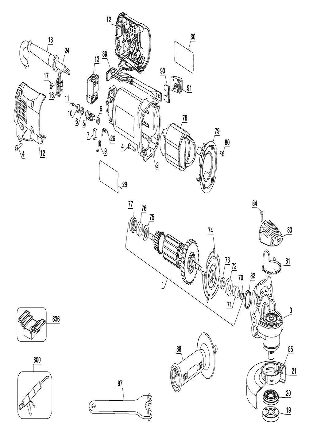 Buy Dewalt D28111-B3 Type-1 Replacement Tool Parts