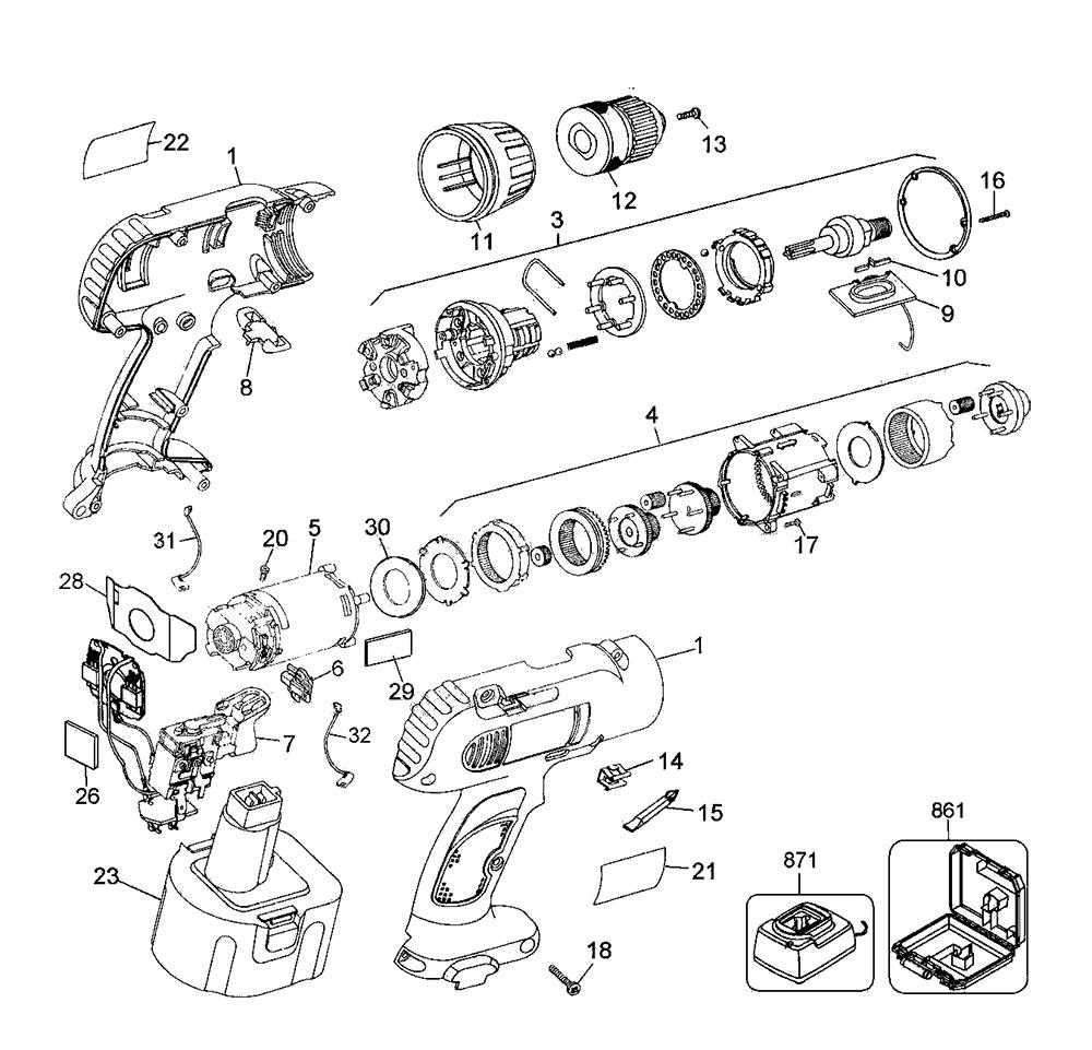 De Walt Drill Wiring Diagrams, De, Get Free Image About