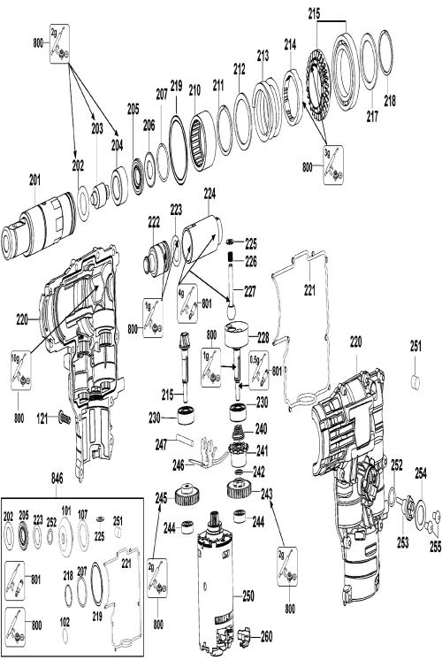 small resolution of dc212kl t2 dewalt pb 1break down