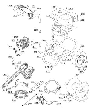 Buy Dewalt DPH3800TYPE1 3800 Max PSI @ 40 GPM Pressure Washer; Honda GX390, CAT 67DX Pump, 50