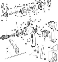 buy ridgid r7122 replacement tool parts schematic of an electric drill buy dewalt dw511 type 3 heavy duty 1  [ 1000 x 1173 Pixel ]