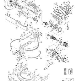 dewalt miter saw wiring diagram dw715 wiring diagram chainsaw parts craftsman chainsaw diagram 358 355061 [ 1000 x 1281 Pixel ]