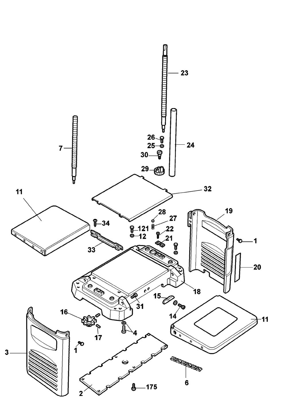 Dewalt Dw733 Parts Manual