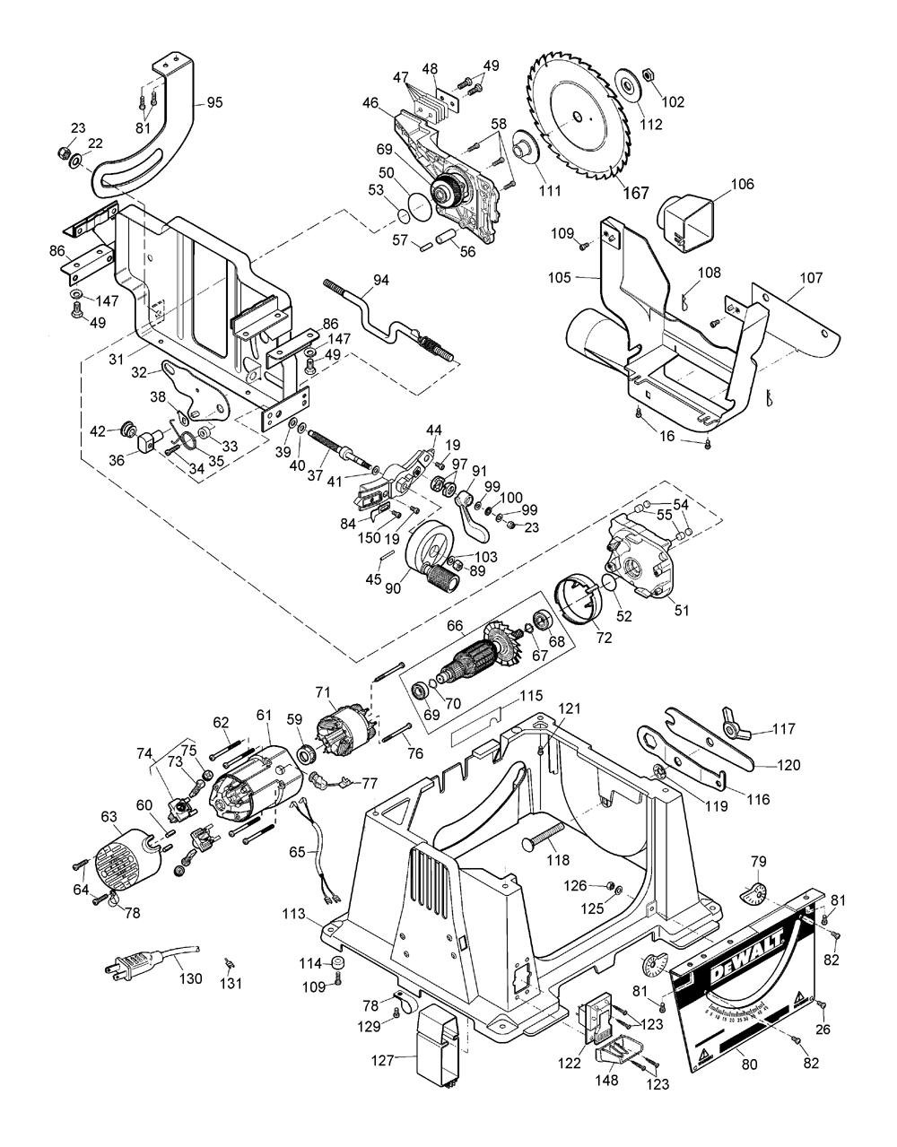 Buy Dewalt DW744 Type-2 10