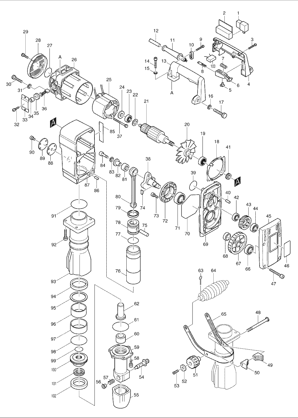 wiring diagram for makita hm0870c