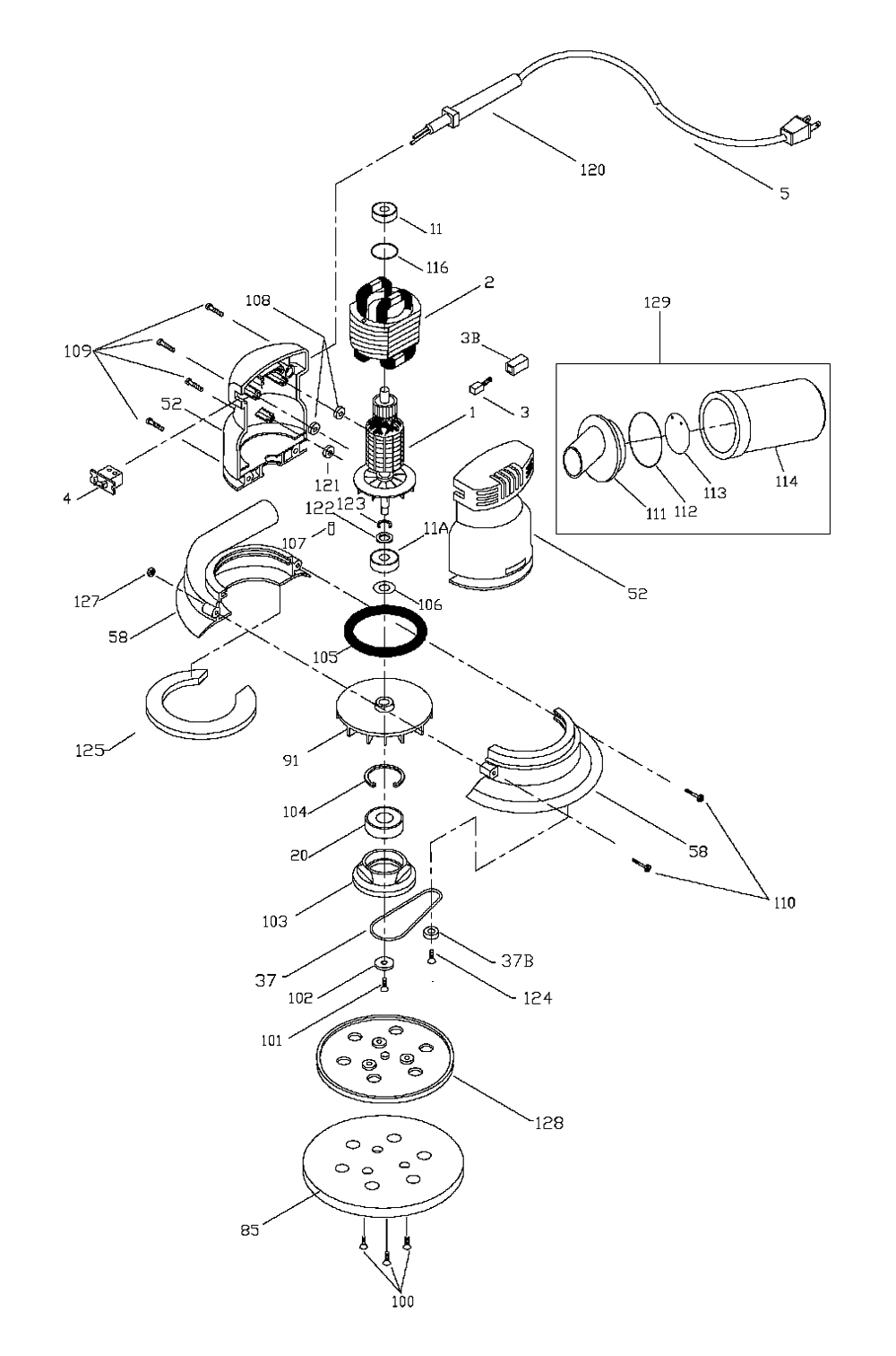Schematic For Delta Power Tools, Schematic, Get Free Image