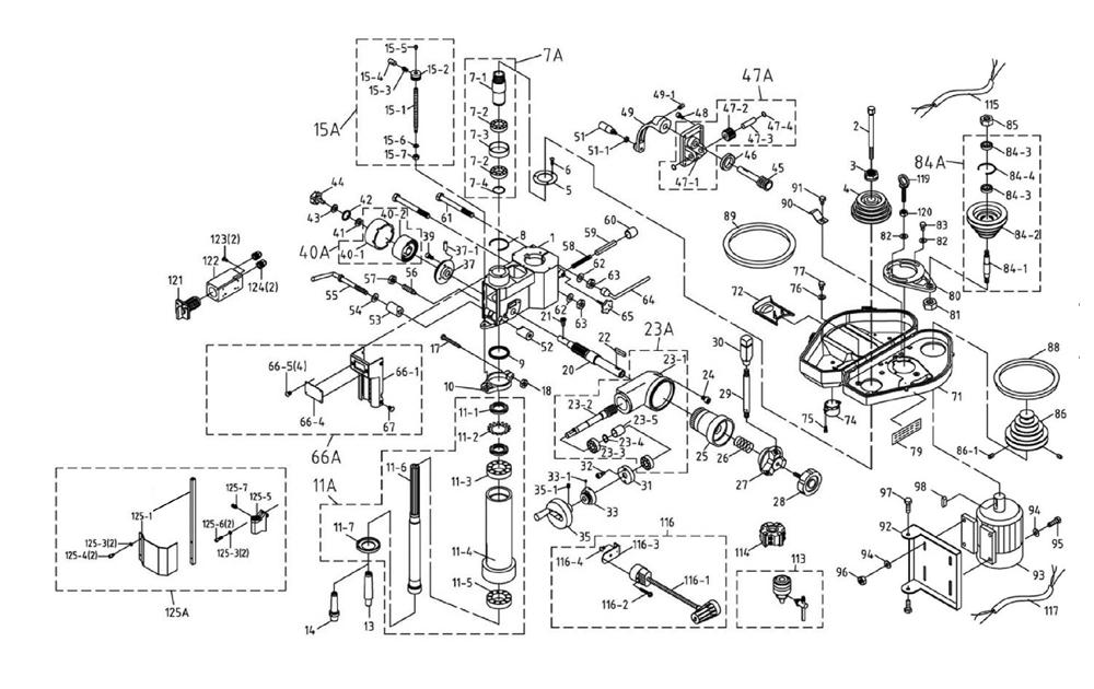 Buy Jet JMD-18-(350119) Mill/Drill Machine Replacement
