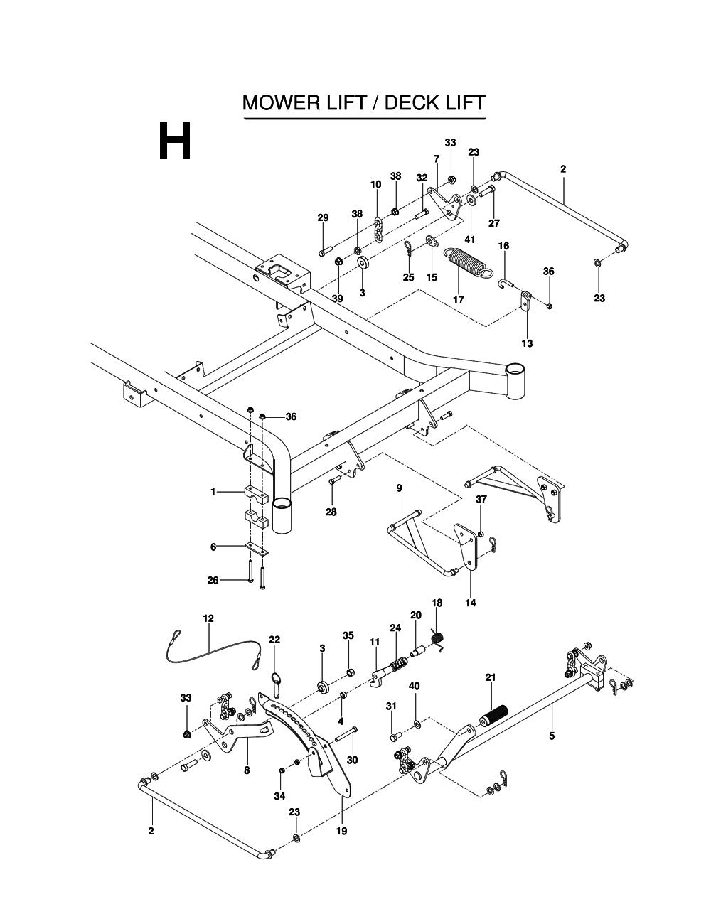 Buy Husqvarna MZ52-(967277405) Replacement Tool Parts