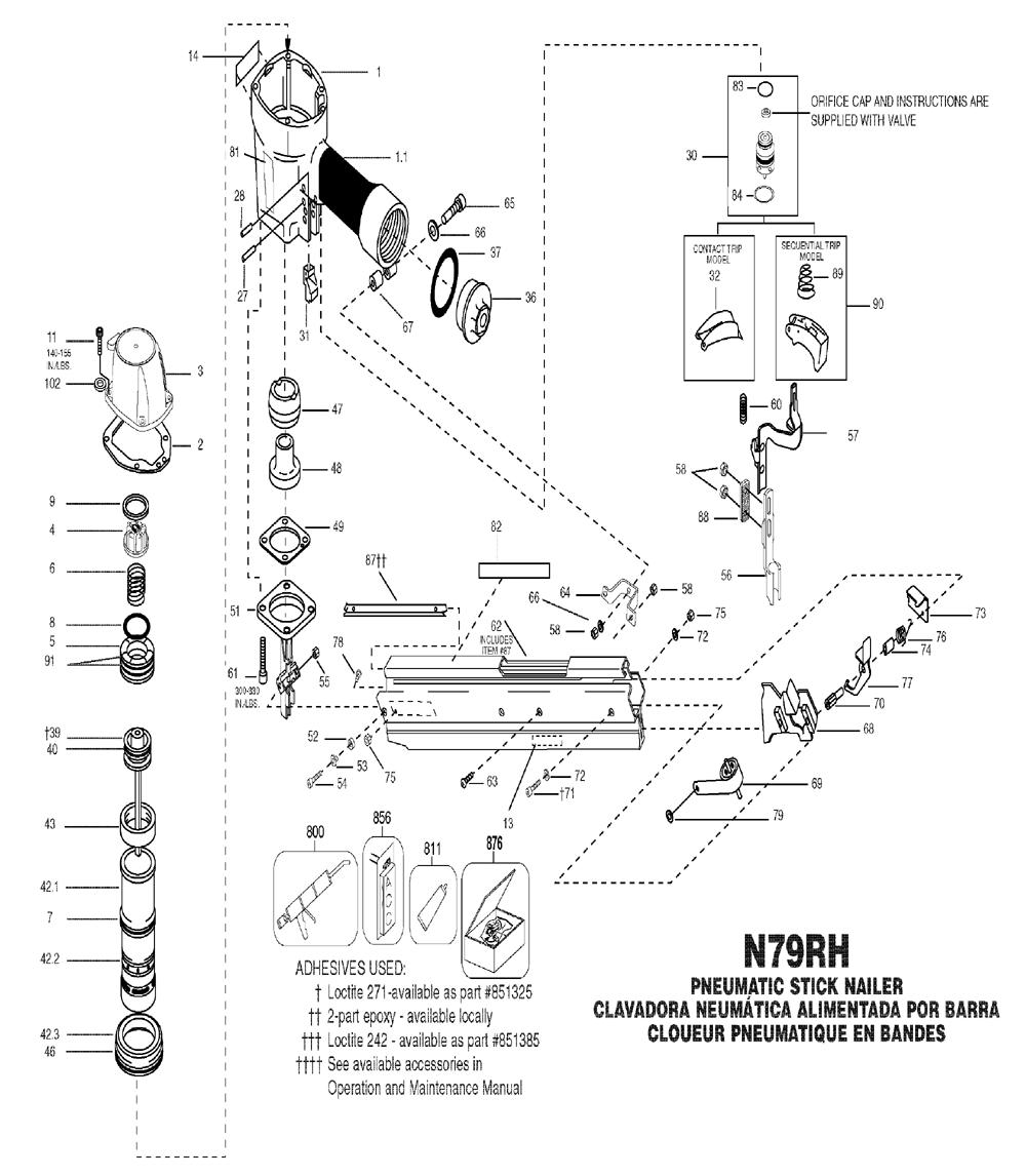 Hilti Te 50 Parts Diagram, Hilti, Free Engine Image For