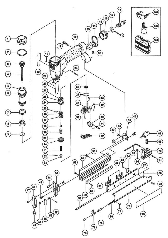 Buy Hitachi NP35A 23 Gauge 1-3/8 Inch Micro Pin