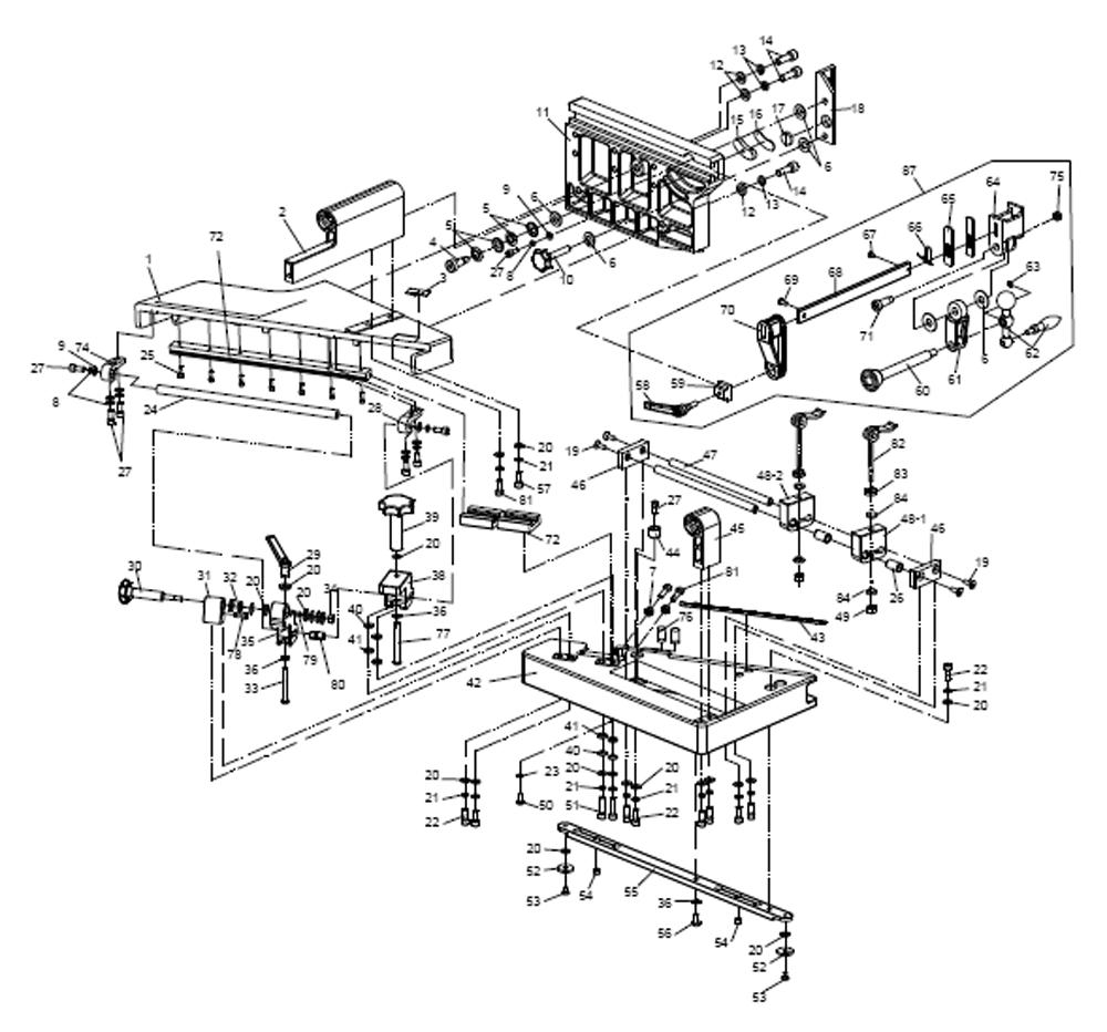 Buy Powermatic PM-TJ-(1799000) Tenoning Jig Replacement