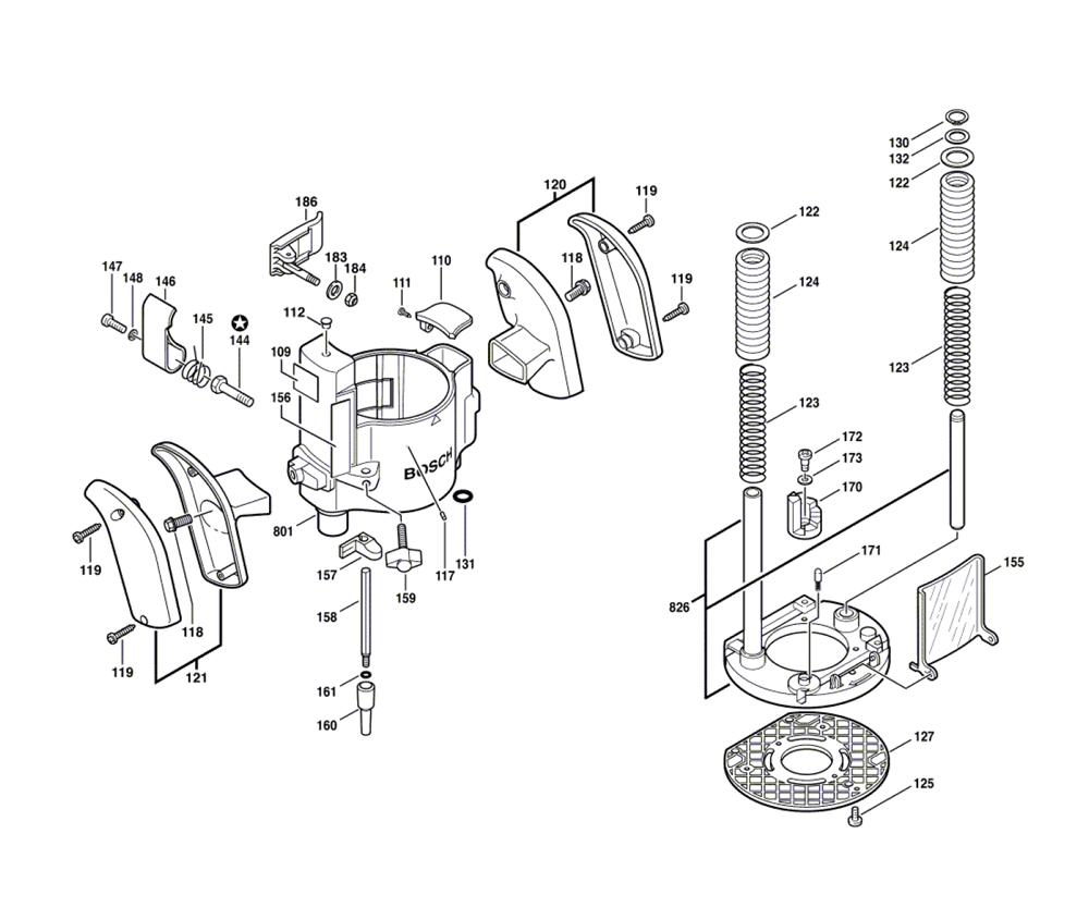 Buy Bosch RA1166-(2610919881) Plunge Base for 1617/18