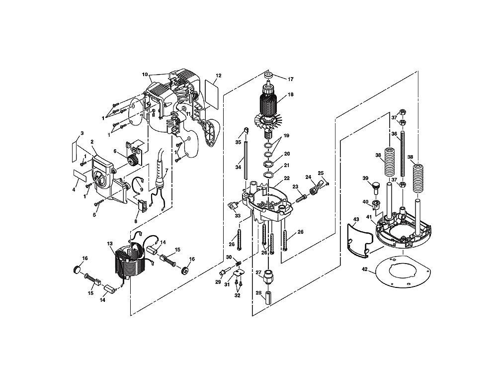 Router Schematic Diagram