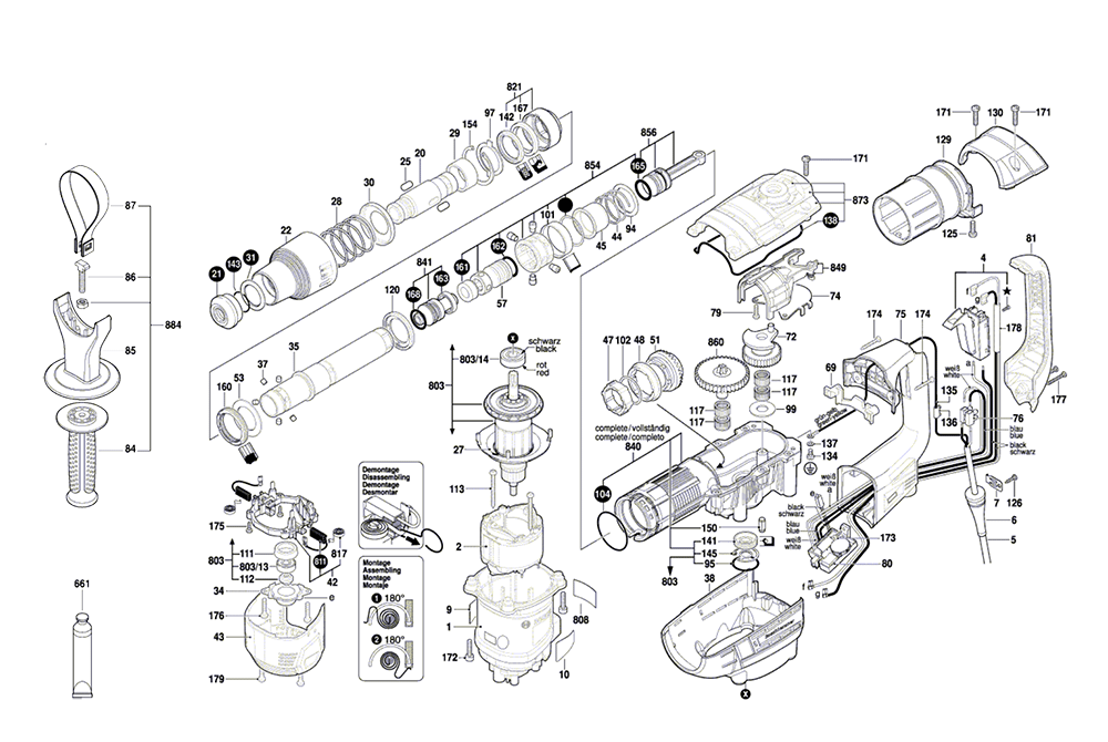 Buy Bosch RH540M-(3611B69010) 1-9/16