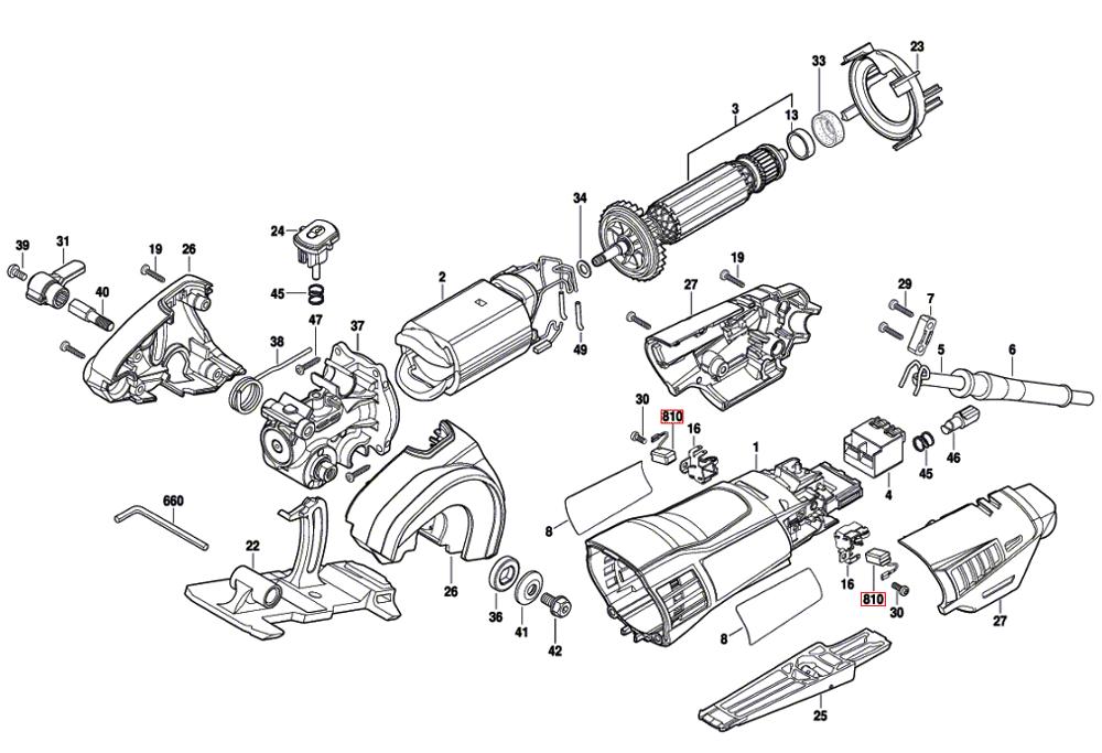 dremel wiring diagram