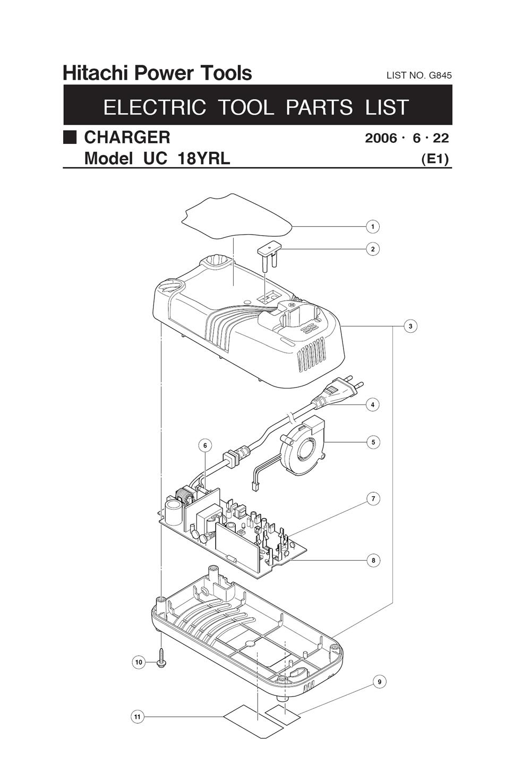 Buy Hitachi UC18YRL 7.2 to 18 Volt Universal Replacement
