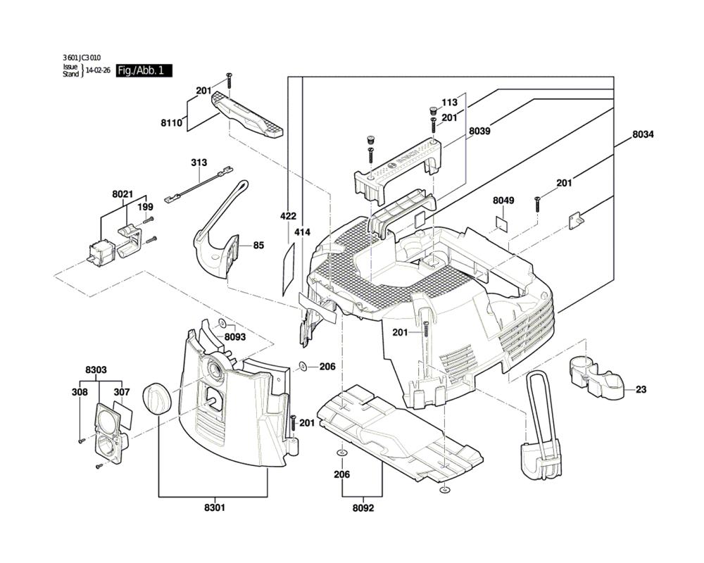 Vacuum Parts: Bosch Vacuum Parts