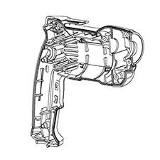 Buy Dewalt DWD112-AR Type-1 3/8 Inch Heavy-Duty VSR Pistol