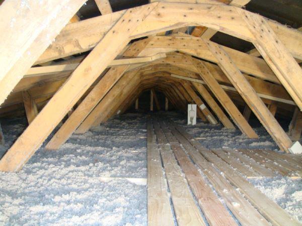 Loftisolering  efterisolering af loft i Viborg Silkeborg