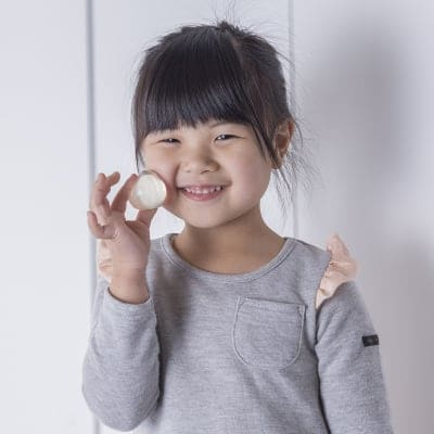 【プルプル丸くてかわいい、小さな石けん】白美の雫 洗顔石鹸(30g)※泡立てネット付き