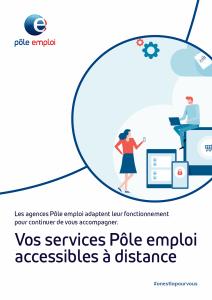 Services à distance de Pôle emploi (recto)