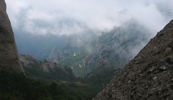 Vista al sud, cap al Llobregat.
