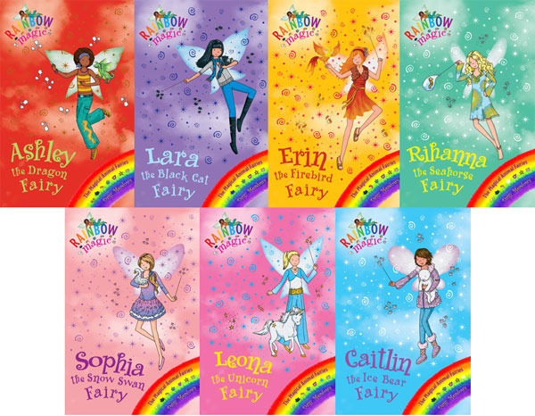 Rainbow Magic Magical Animal Fairies