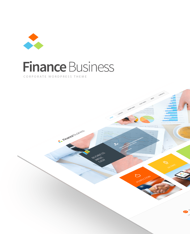 Finance Business Theme