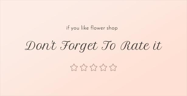 flower shop theme