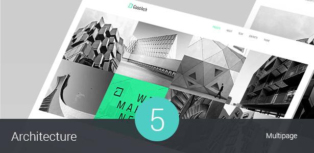 Building & Architecture WordPress Theme