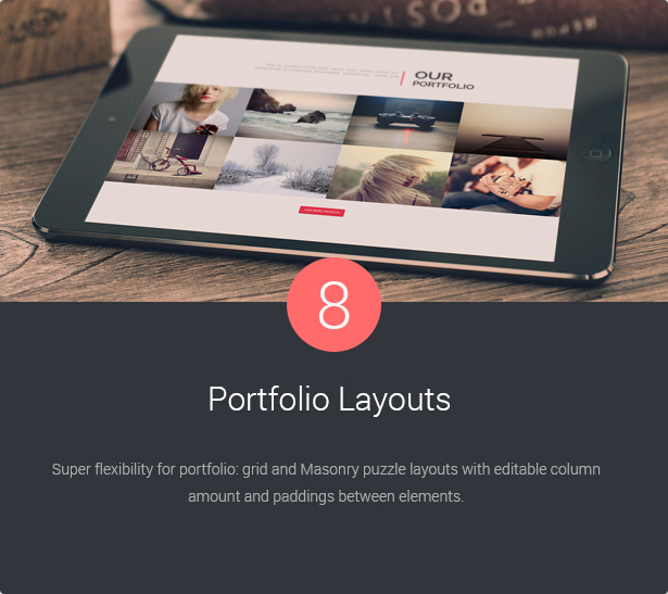 8 Portfolio Layouts