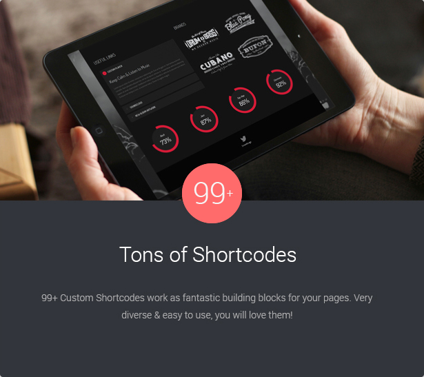 99 Tons Of Shortcodes