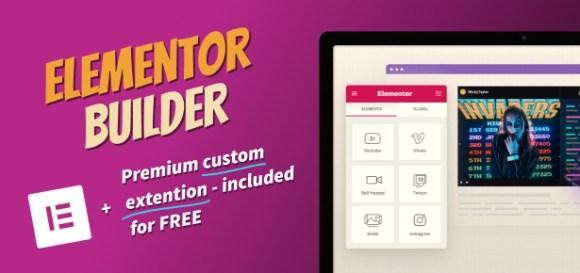Elementor Builder Blogger Theme for WordPress