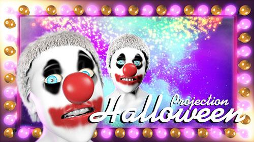 Free Halloween Window Projections