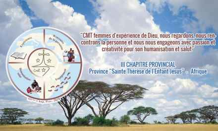 """III Capítulo Provincial de la Provincia """"Sta. Teresita del Niño Jesús"""" África"""