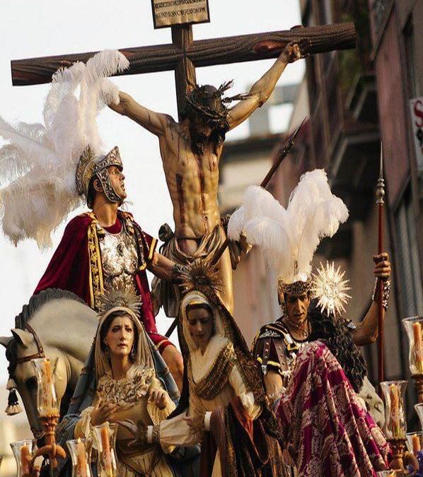 Pregón de Cuaresma, Cofradía de la Santa Lanzada de Elche