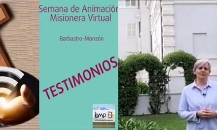 TESTIMONIO DE HERMANA GENERAL EN LA SEMANA DE ANIMACIÓN MISIONERA-DIÓCESIS DE BARBASTRO