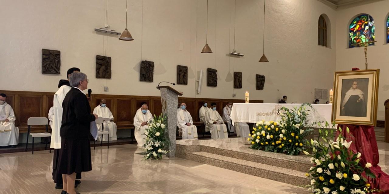 CELEBRACIÓN DEL 25 ANIVERSARIO DE PROFESIÓN RELIGIOSA DE NUESTRA ANIMADORA GENERAL