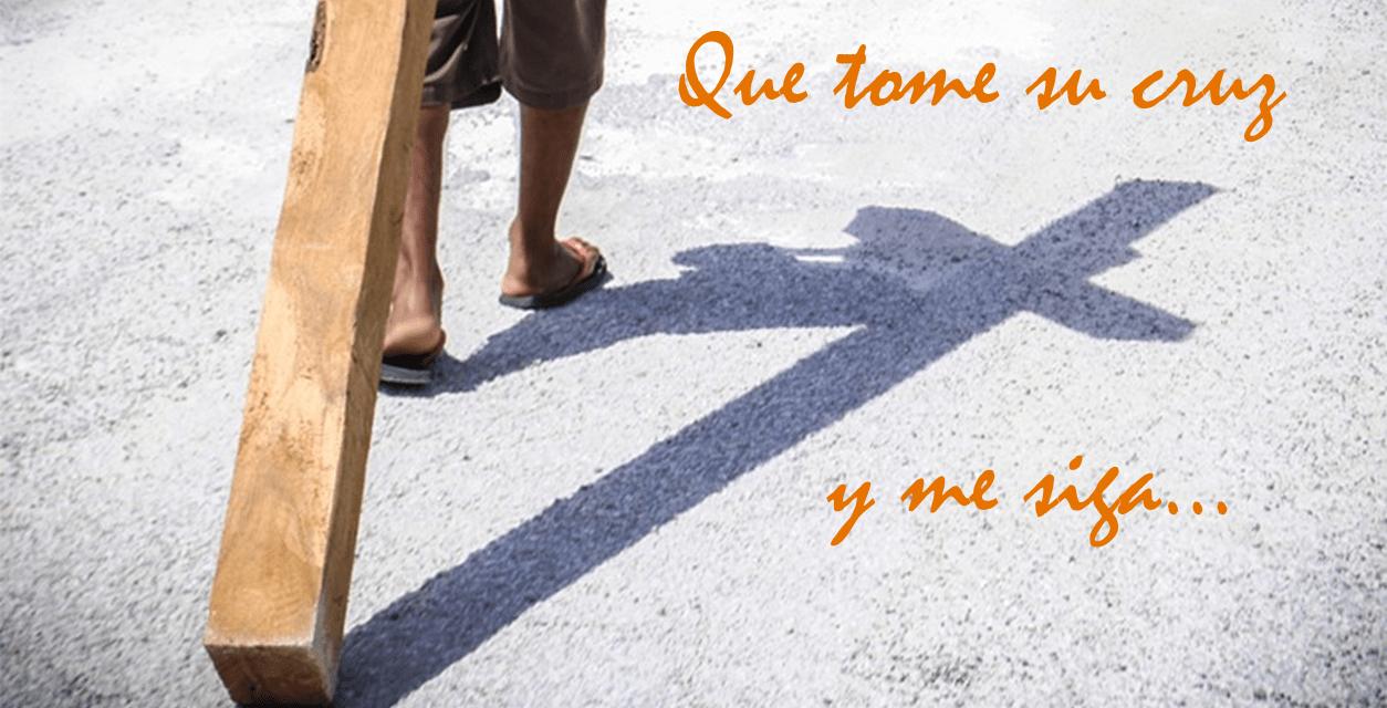DOMINGO XXIV TPO ORDINARIO: TOMAR LA CRUZ CON CRISTO