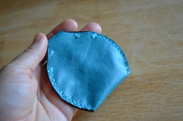 Coin pouch - turquoise