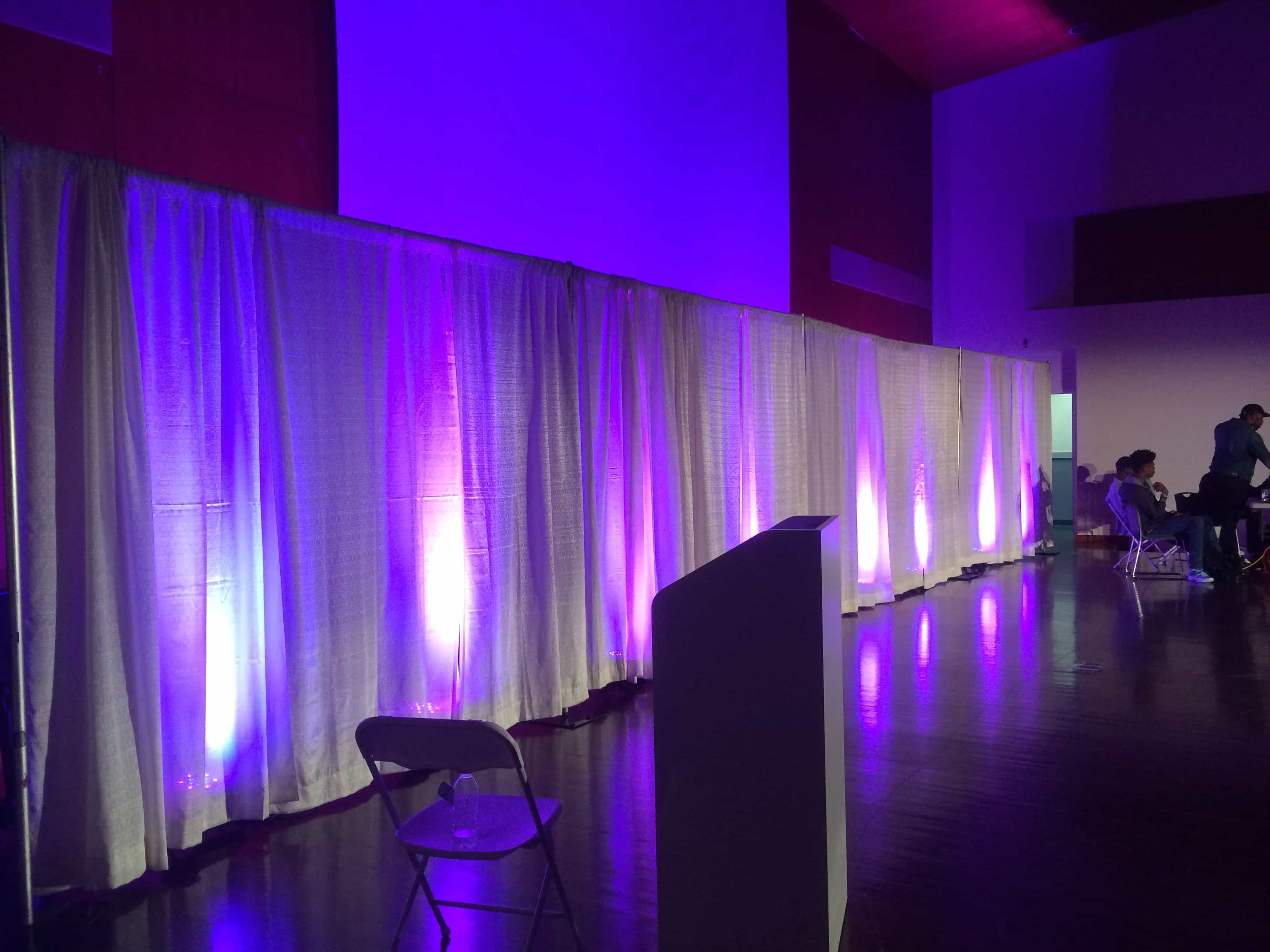fashion show staging sound and