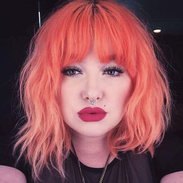 cliomakeup-coral-hair