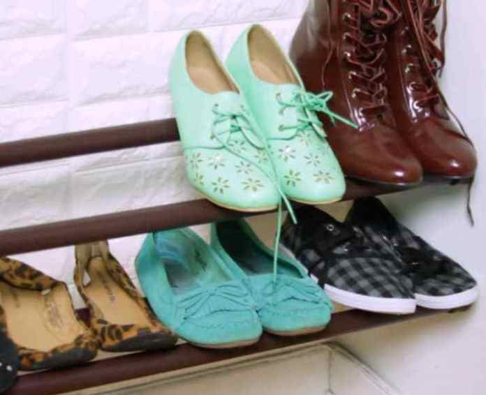 cliomakeup-hacks-per-riordinare-armadio-bastoni-tende-per-scarpe