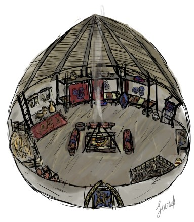 Inside a roundhouse part 1.