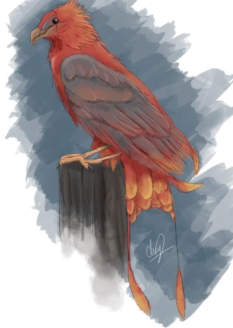 This eagle is a creation of mine that are used by the Eagle Hunters in my novel.