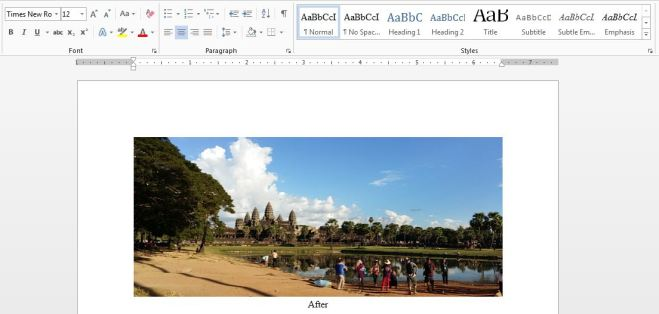 MS Word-After
