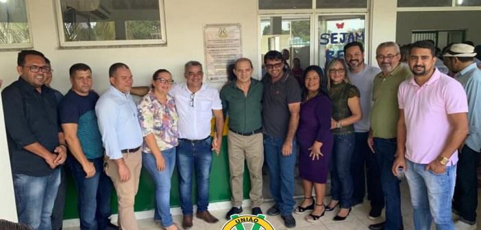 Reinauguração da Unidade de Saúde da Família de Vitória do Xingu 1