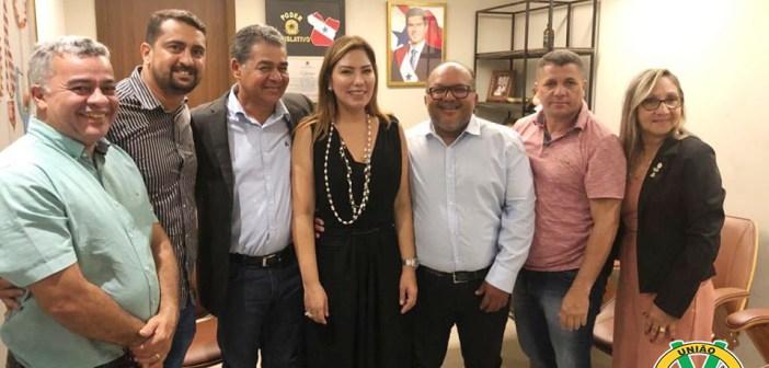 Legislativo de Vitória do Xingu se reuniram com Deputada Estadual em Belém