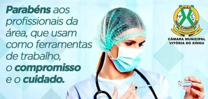 Parabéns e Obrigada aos profissionais Enfermeiros(as) pelo seu dia